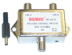 2x1 Voltage Controlled Switch, 0/12V