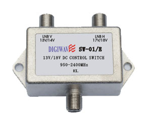 2 in 1 out 13/18V DC Control Multiswitch
