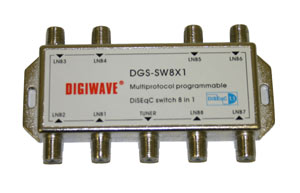 8x1 Diseqc Switch 8 in 1 out