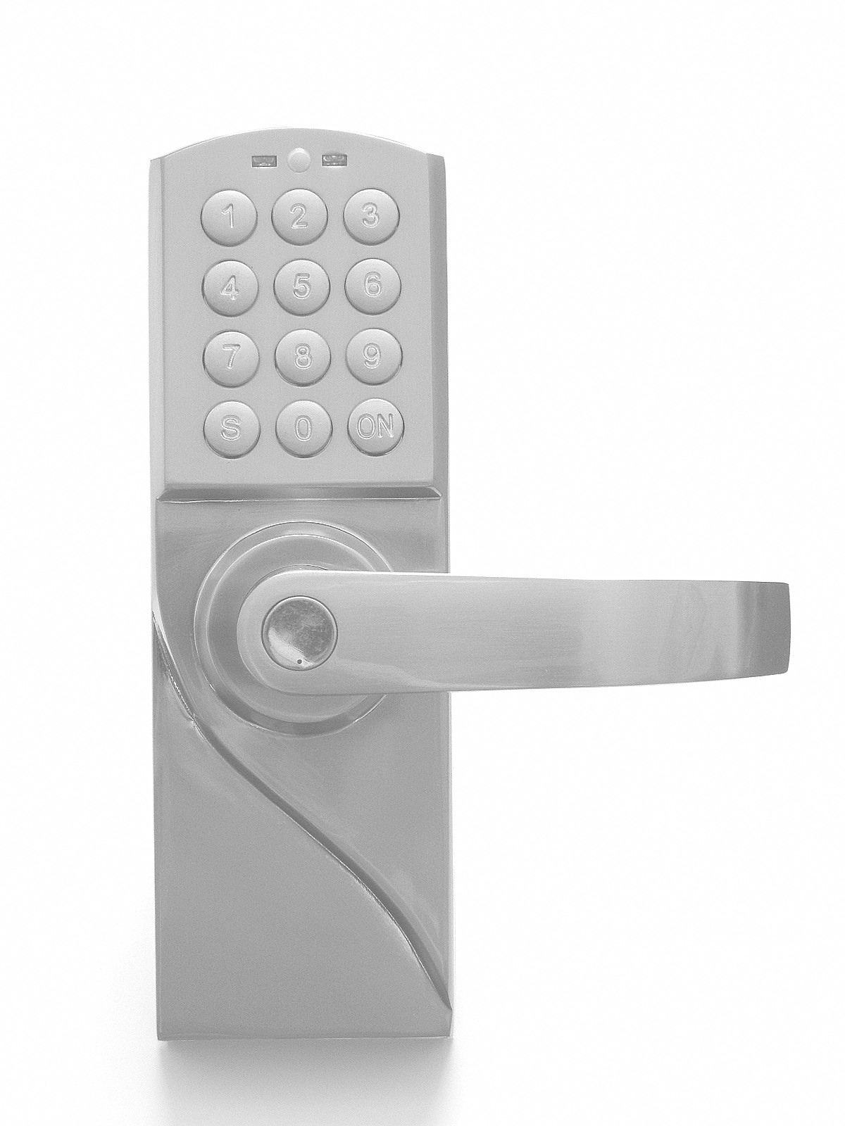 keyless electronic digital door lock mrdj left hand