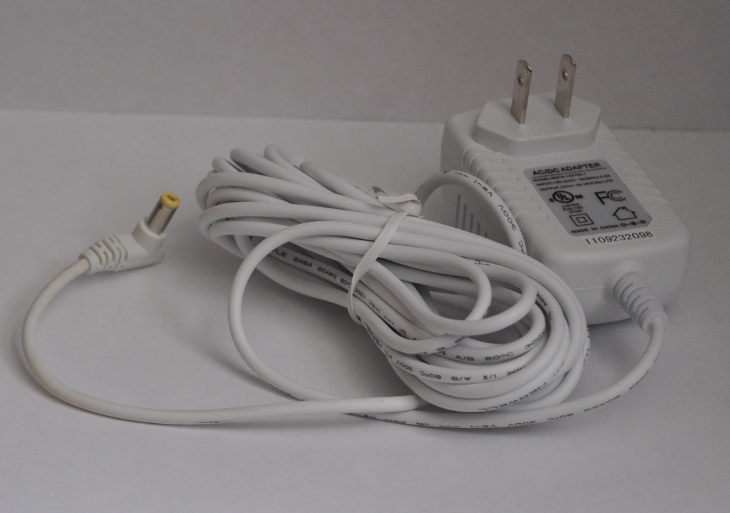 12VDC 1.2A DC Power Adapter for Curtain